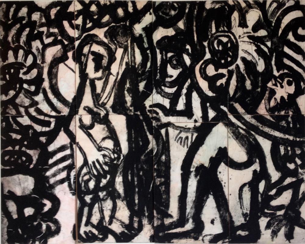 Adam & Eva , 160x200, 2015