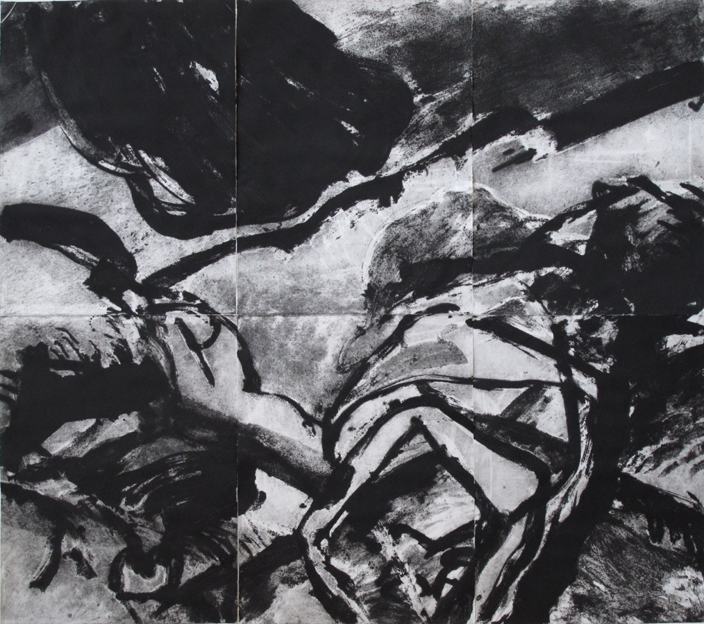 Creation of a man , 210x 234 cm, 2009