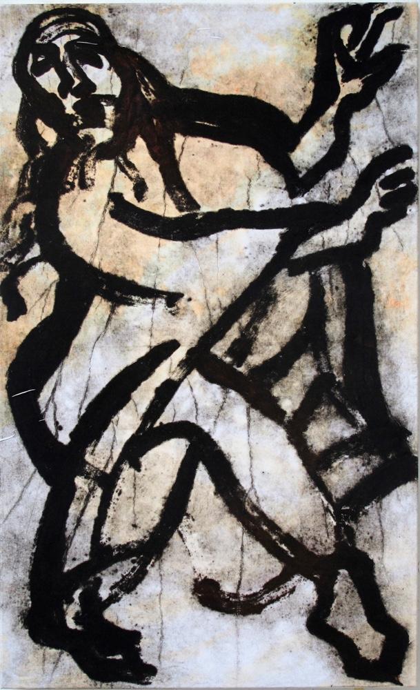 Dancing Isaiah, 150x90 cm