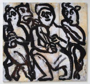 Devil's concert,140x150 cm