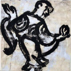 Ezekiel,100x100 cm
