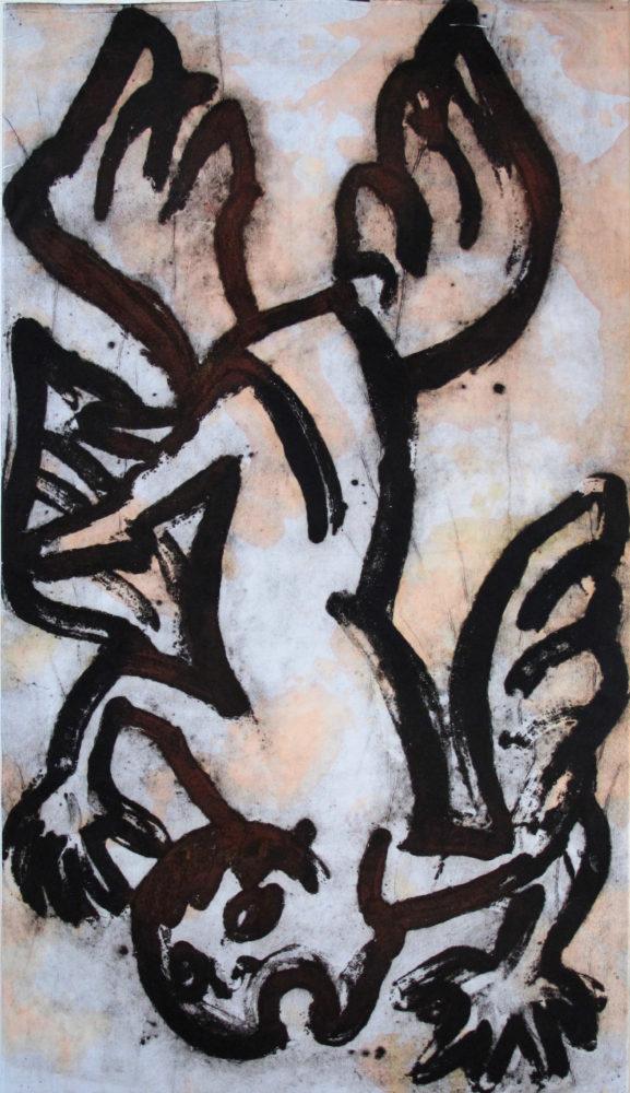 Fallen Angel, 160x90 cm
