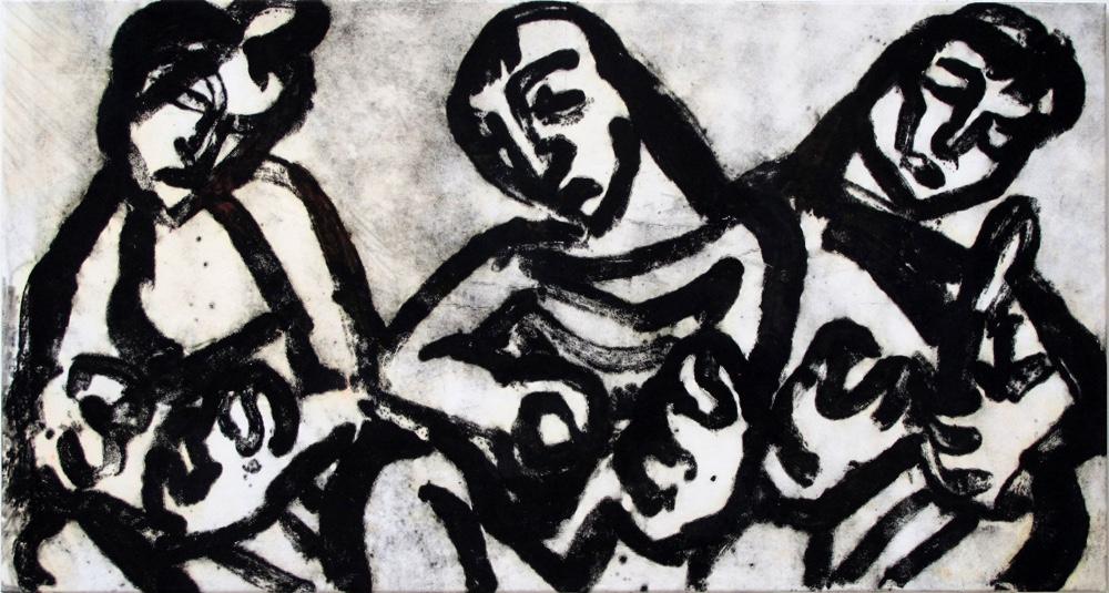 Fates , 80x150cm