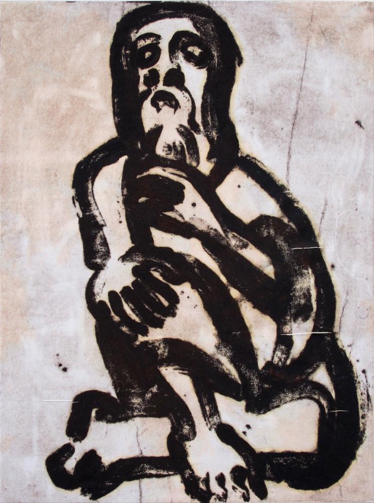 Jeremaiah, 100x75 cm