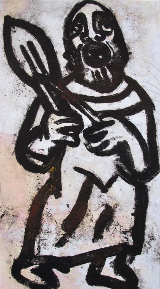 Pilgrim,117x63 cm
