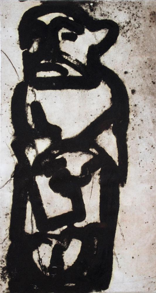 Prophet 1, 85x45 cm