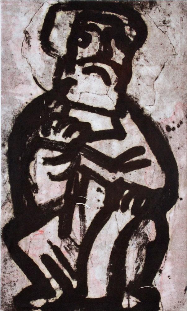 Prophet 10 , 85x 50 cm