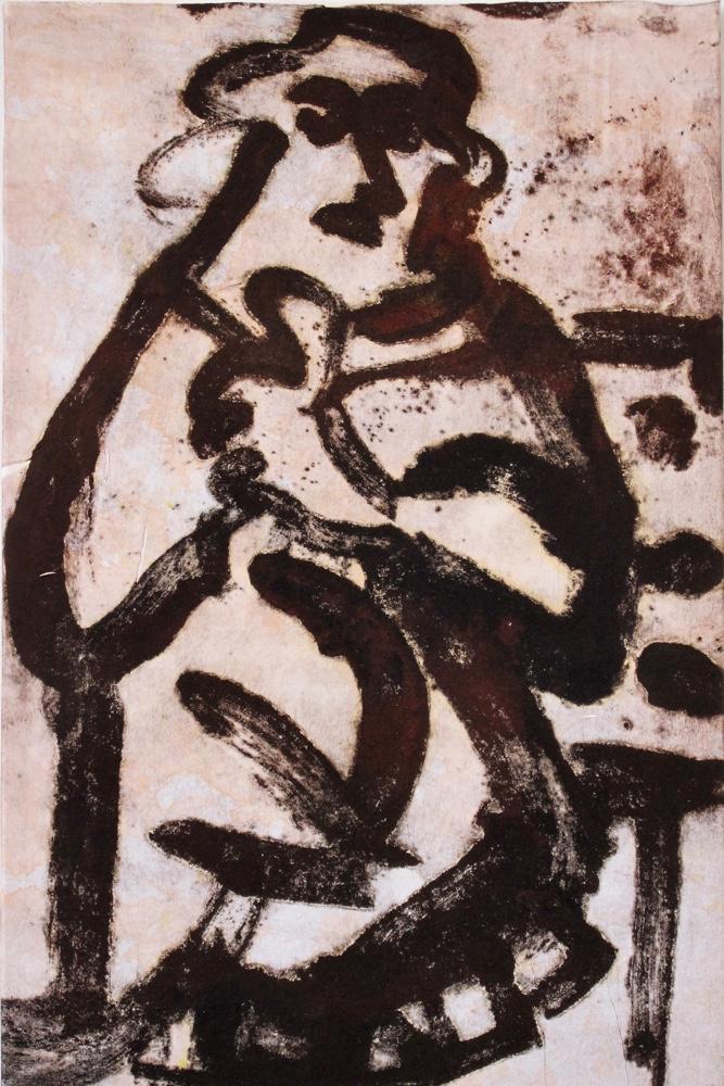 Prophet 17 , 85 x 55 cm
