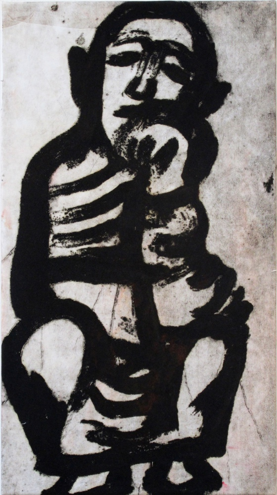 Prophet 6, 85 x 48 cm