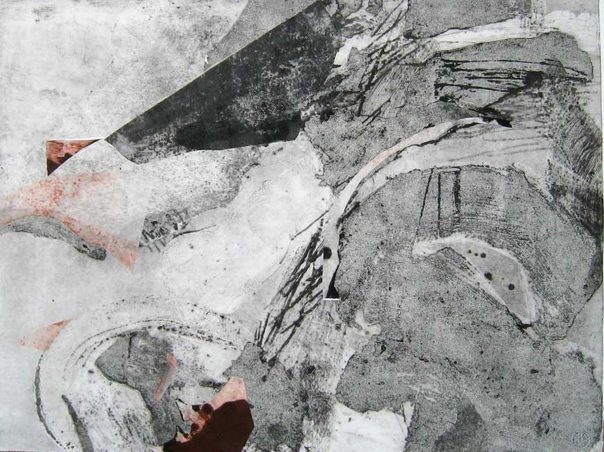 g3 light landscape 3 78x105cm monoprintcollage on paper