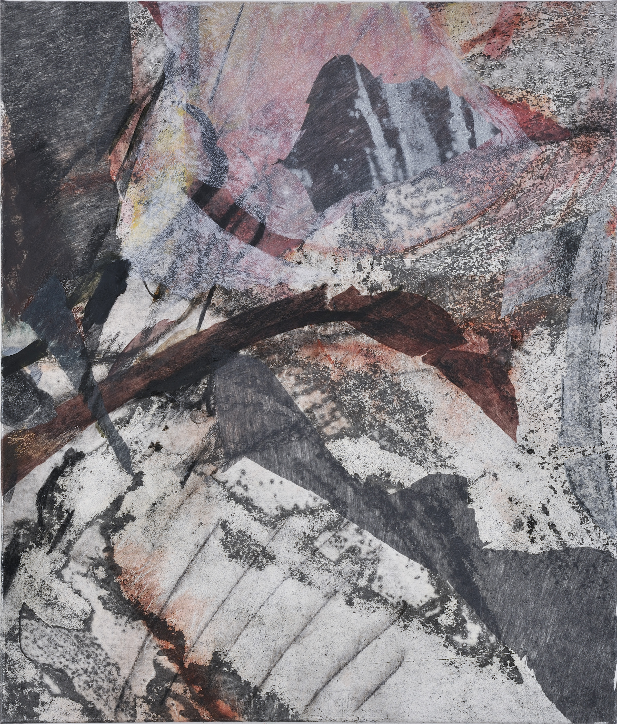journey 1 - mixed medium on canvas 70x60cm