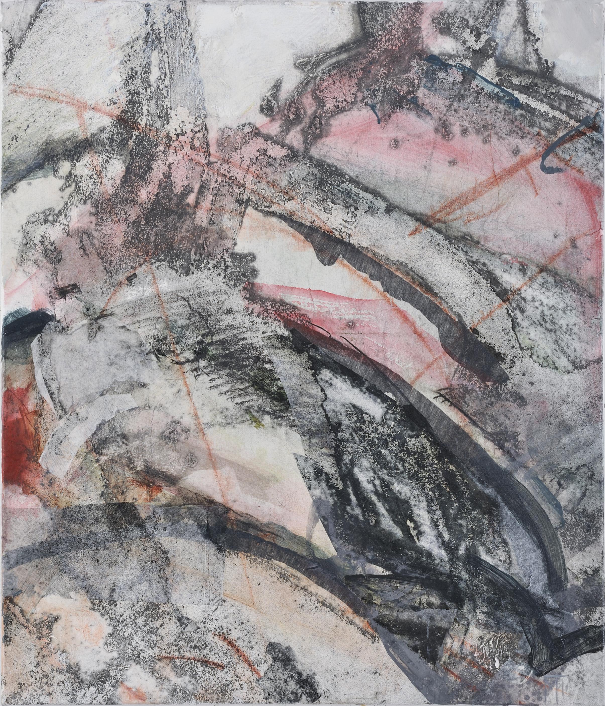journey 2 - mixed medium on canvas 70x60cm