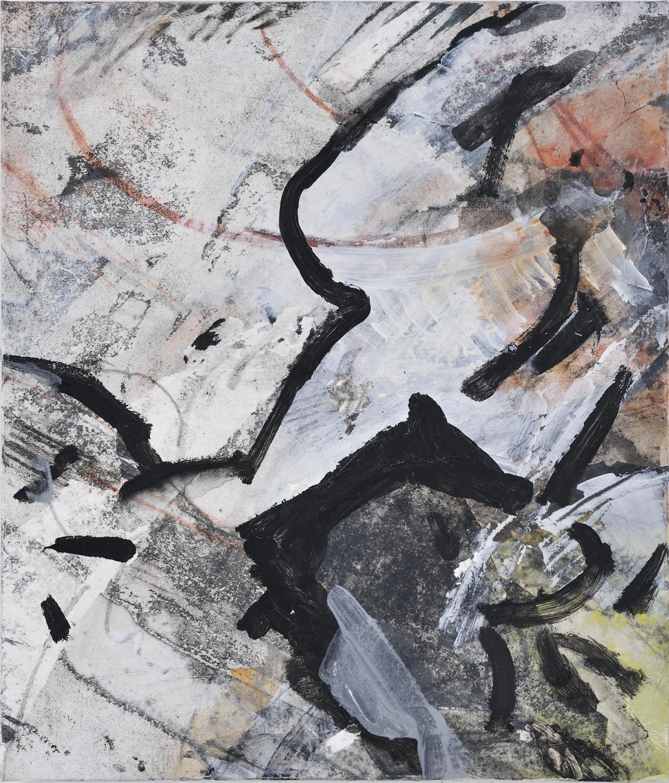 journey 3 - mixed medium on canvas 70x60cm