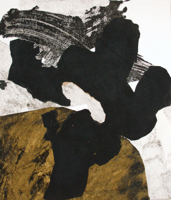 Gold and Black 3, 70x60cm, 2007