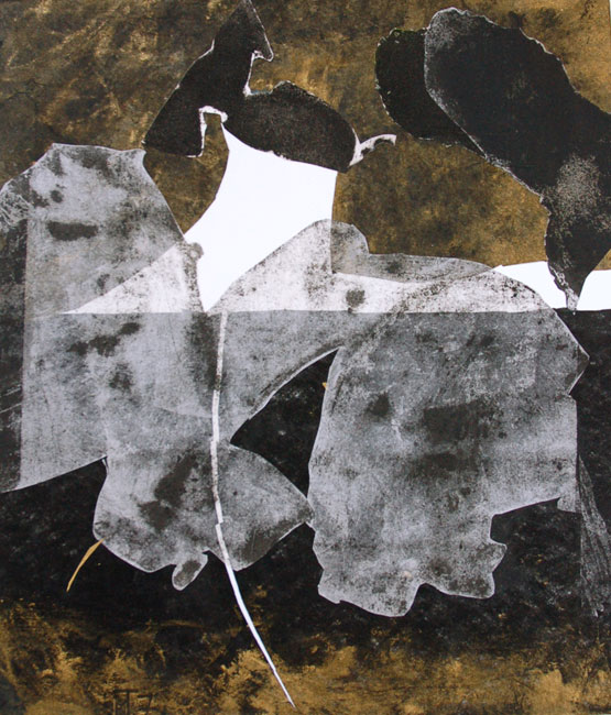 Gold and Black 2, 70x60cm, 2007