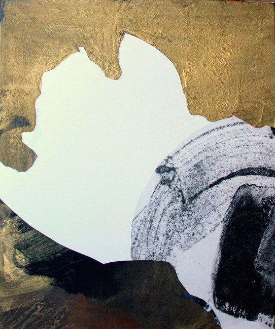 Gold and Black 1 , 70x60cm, 2007
