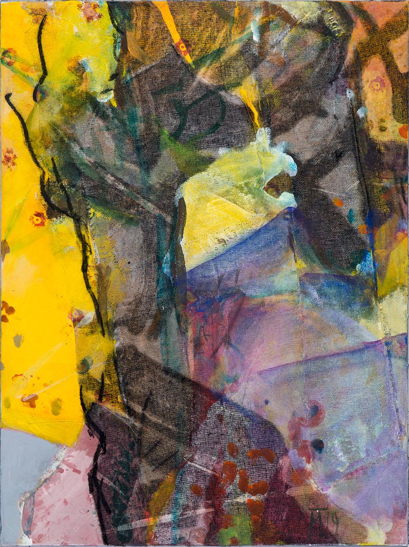 Oriental, 80x60cm,mixed media on canvas, 2019