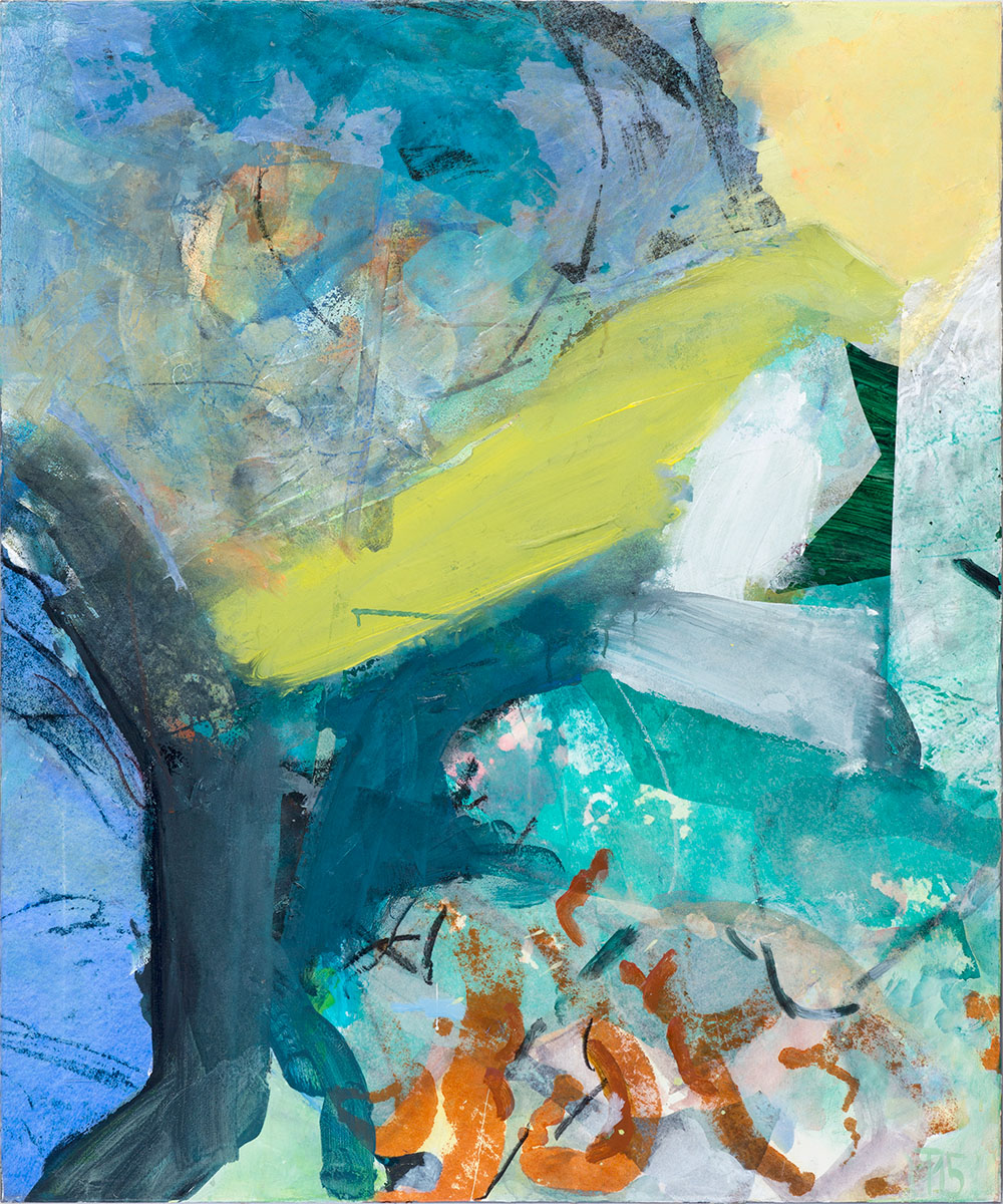 Wind, 120x100,mixed medium on canvas, 2015